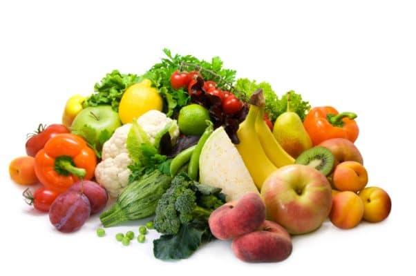 Obst und Gemüse bei BARF
