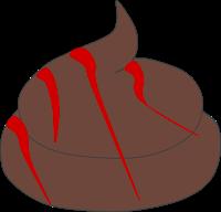 Blut im Kot Hund