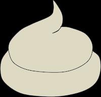 Weißer Kot Knochenkot Hund