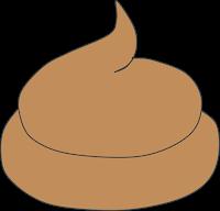 Hundekot Orange oder gelblich